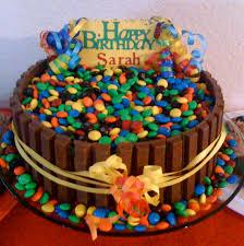 easy kit kat m u0026m cake