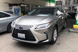lexus rx 350 hybrid 2017 lexus rx 450h hybrid real world gas mileage news cars com