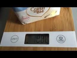 balance de cuisine design balance de cuisine smart weigh kbs100 bamboo numérique avec tare