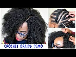 what hair to use for crochet braids watch me do crochet braids invisible part method w marley hair