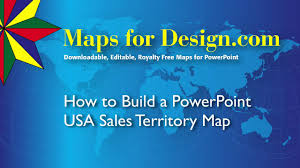 Powerpoint World Map by How To Make A Powerpoint Usa Sales Territory Map From