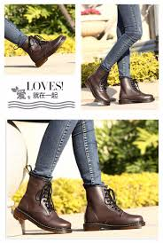 fashion martin boots dr 2017 england style genuine leather shoes