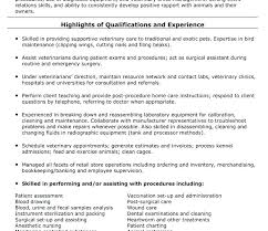sample vet tech resume veterinary technician resumes resume