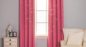 Ruffled Pink Curtains Curtains Ideal Blackout Pink Ruffle Curtains Unique Pink Gingham