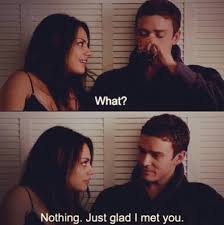 Friends With Benefits Meme - justin timberlake is glad he met mila kunis in friends with benefits