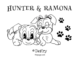 pug coloring pages to print how to draw dog coloring page in