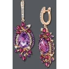 gaudy earrings le vian 14k white gold earrings multi a gaudy but