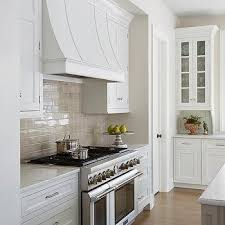 white kitchen cabinets with taupe backsplash taupe subway kitchen backsplash tiles design ideas