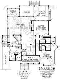 Dual Occupancy Floor Plans Tide Water Cottage House Plan Coastal House Plans