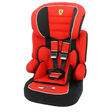 ferrari car seats range kiddicare ferrari beline sp group 1 2 3 car seat in red