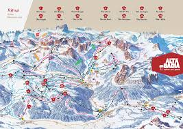 Dolomites Italy Map by Skiing The Sud Tyrol The Italian Dolomites Blog Ski