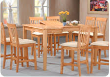 Pub Height Or Counter Height Dining And Kitchen Table Sets And - Counter height dining table set butterfly leaf