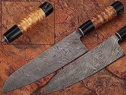 Más De 25 Ideas únicas Sobre Damascus Steel Chef Knife En