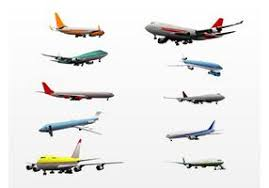 airplane free vector art 8789 free downloads