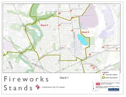 Dc World Map by Map Of Fireworks Stands Ward 1 2011 Dcra