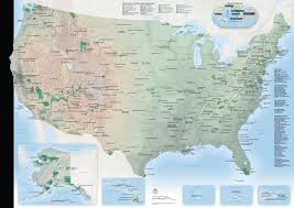 map of us states national parks map of us and national parks national park map thempfa org