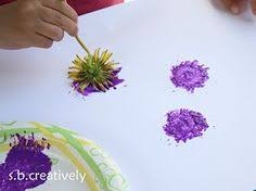 dltk kids crafts spring tree use foam flower shapes for the