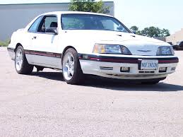 1992 Ford Thunderbird 1987 Ford Thunderbird Turbo Coupe While The Mustang Turbo Has A