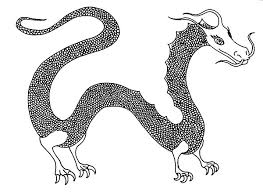 female chinese dragon coloring pages netart