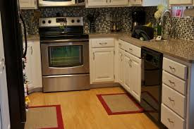 red kitchen rugs with passionate look the new way home decor