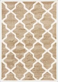 cross hatch trellis modern rug beige u2013 rugs of beauty