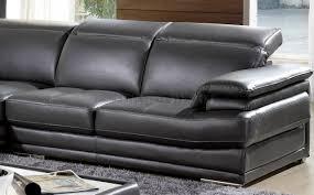 dark grey leather sofa charcoal leather sofa recliner dark grey full genuine italian