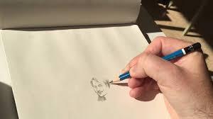 a thumbnail sketch youtube