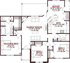 bungalow style house plan 3 beds 2 00 baths 1472 sq ft plan 63 307