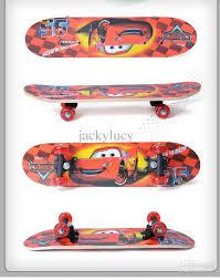 60cm cartoon kids skateboard mini cruiser plastic longboard for