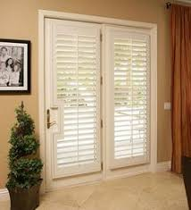 Blinds For Patio French Doors French Doors Hunter Douglas Window Treatments Wood Blinds For
