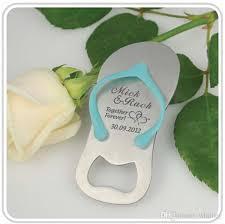 personalized bottle opener wedding favor 2017 flip flop bottle opener personalized gift wedding groomsmen