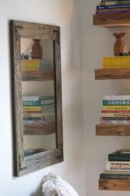 rustic wall mirror small wall mirror 18 x 18 mirror