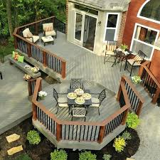 Patios And Decks Designs Elevated Backyard Decks Backyard Deck Designs Plans Elevated Deck