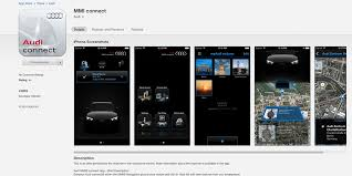 audi conect audi launches mmi connect app that synchs directly with all