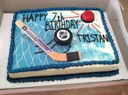 hockey cake toppers vegan hockey birthday cake vegan birthday cake ideas