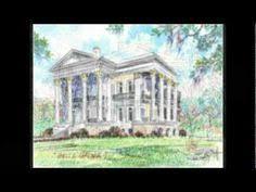 Belle Grove Barns Belle Grove Plantation Mansion White Castle Louisiana Front
