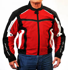 Men U0027s Superfabric Ez 1 Mesh Jacket Red U2013 Slatin Motogear