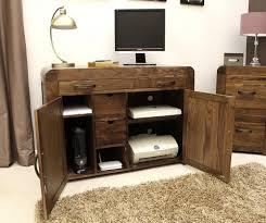 Hideaway Desks Home Office by 50 Off Walnut Hideaway Computer Desk Shiro
