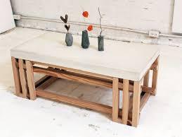 Concrete Side Table Coffee Table Concrete Coffee Table Coffee Tables
