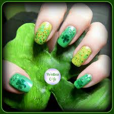 the beauty of life almost st patricks day nail art polka robin