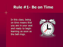 class bell rings images Classroom rules and expectations ppt download jpg