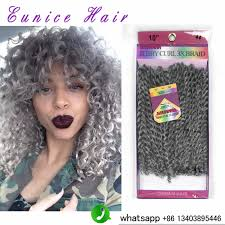 afro twist braid premium synthetic hairstyles for women over 50 8 inch gray synthetic crochet braids freetress twists braids 3pcs