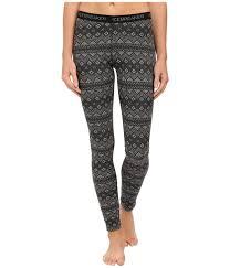 gap patterned leggings icebreaker vertex leggings icon fairisle jet heather black snow