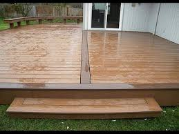 how to install outdoor wood floor