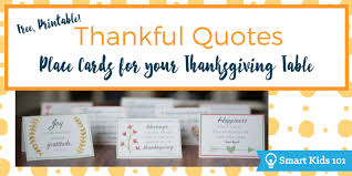 free printable thankful quotes for your thanksgiving table