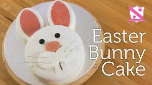 easter rabbits decorations easter bunny cake decoration