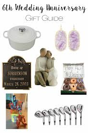 6th anniversary gifts for the adventure starts here 6th wedding anniversary gift guide
