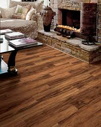 rustic modern living room design with best luxury vinyl plank
