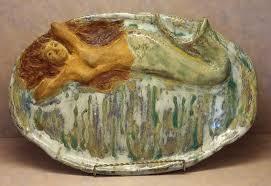 ceramic serving platters mermaid ceramic serving platter