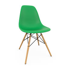 vitra eames dsw side chair new height